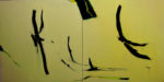 Norbert Pagé Le ballet (Diptyque) 130 x 300 cm 2008