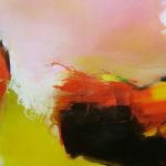 Norbert Pagé Rouge et noir 100 x 100 cm 2008