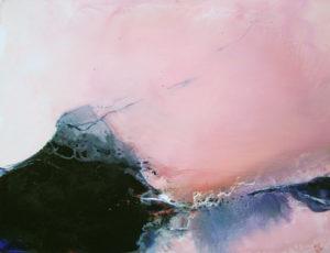 Norbert Pagé Paysage rose 89 x 116 cm 2008