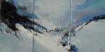 Norbert Pagé Chercheur d'espace 33 x 66 cm 2008