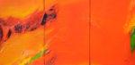 Norbert Pagé Rouge d'automne 33 x 66 cm 2008