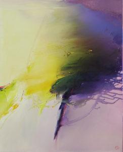 Norbert Pagé Bourrasque 100 x 81 cm 2009