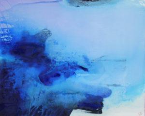 Norbert Pagé Bleu... marine 81 x 100 cm 2009