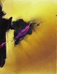 Norbert Pagé Contre jour 116 x 89 cm 2009