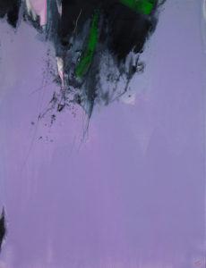 Norbert Pagé Lilas 116 x 89 cm 2009