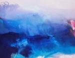 Norbert Pagé Dans le bleu de la mer 89 x 116 cm 2009