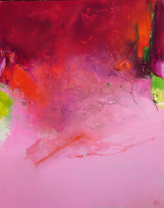 Norbert Pagé L'offrande 92 x 73 cm 2009