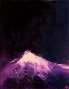 Norbert Pagé Lumière céleste 92 x 73 cm 2009