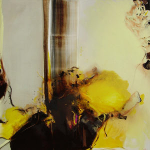 Norbert Pagé Fleur d'automne 120 x 120 cm 2009