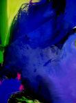 Norbert Pagé Le grand mystère bleu 130 x 97 cm 2009