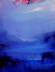 Norbert Pagé Dans le bleu de la mer 116 x 89 cm 2009