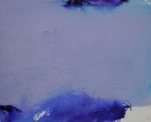 Norbert Pagé Bleu marine II 81 x 100 cm 2009