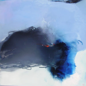 Norbert Pagé Explosion 100 x 100 cm 2009