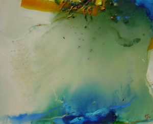 Norbert Pagé Les algues 60 x 73 cm 2009