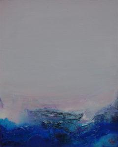 Norbert Pagé Ciel marin 40 x 33 cm 2009