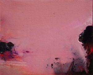 Norbert Pagé Petite rose 22 x 27 cm 2009