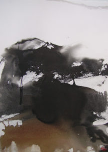 Norbert Pagé Breizh n°4 105 x 75 cm