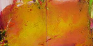 Norbert Pagé Diptyque 60 x 160 cm 2011