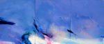 Norbert Pagé Espace bleu 146 x 342 cm 2008