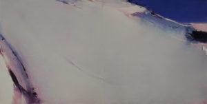 Norbert Pagé Silence des montagnes 120 x 240 cm 2009